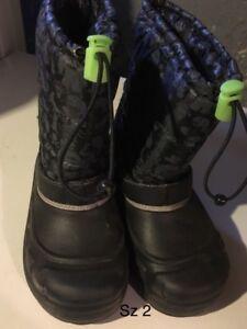 Various boys shoes/boots/sandals