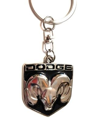 DODGE Logo Keychain Key Tag RAM Trucks Charger challenger viper head logo USA1