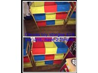 3 TOY STORAGE UNITS PLEASE READ INFO & LOOK AT PHOTOS