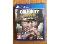 PlayStation 4 call of duty ww2
