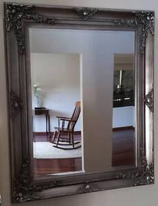 Silver Bevel Edged Mirror 110cm x 103cm Narellan Vale Camden Area Preview