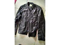 Remus leather jacket large