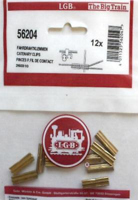 LGB 56204 G - Fahrdrahtklemmen NEU & OvP