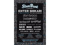 1 x Slam Dunk South ticket (SOLD OUT) - Monday 29 May - Hatfield, Hertfordshire
