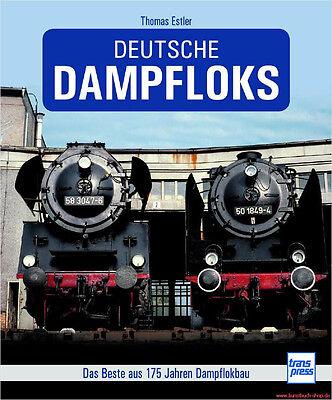 Fachbuch Deutsche Dampfloks, umfassende Dokumentation mit vielen Bildern, OVP