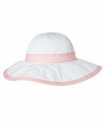 NEW Gymboree GIRLS White & Pink EASTER BOW HAT (Size 5 6 7, 5-7) - NEW WITH TAGS](Girls Easter Hats)