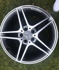 Mercedes c63 Amg alloys tyres