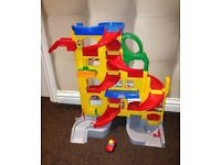 Fisher price stand and play giant garage *excellent condition*