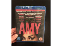 Brand new in wrapper Blueray of AMY