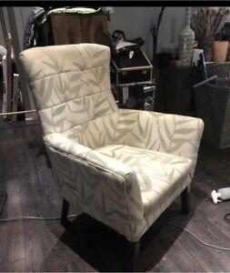 Chair - palm print