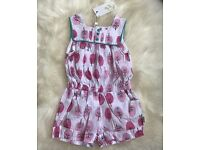 BNWT Girls Playsuit Age 24 Months