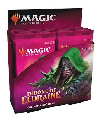 Magic the Gathering CCG: Throne of Eldraine Collector Booster Display (12)