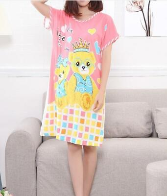 Bear King queen sleepwear night gown Pajamas for summer (Teen/Adult) up to 170lb - Pyjamas For Adults