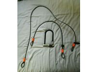 KRYPTONITE BIKE LOCK with cables