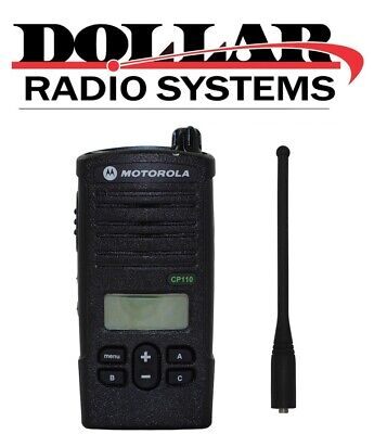 Motorola Cp110 Uhf 450-470mhz 16ch H96rcf9aa2ba Warehouse Business Radio Only