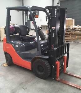 TOYOTA FORKLIFT 1.8T LPG - Finance or (*Rent-To-Own *$92.24pw) Boronia Knox Area Preview
