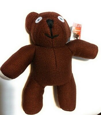 Mr Bean Teddy Bear Plush Toy 9.5 inch tall Doll Stuffed Figure Animal Soft Brown