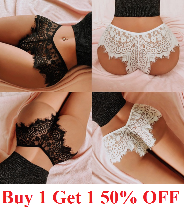 1 Womens Lace Panties Shorts Lingerie sexy hot French Knickers Underwear Clothing, Shoes & Accessories