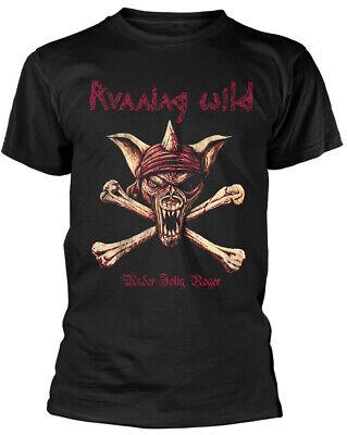 Running Wild - Under Jolly Roger (Crossbones) T-Shirt-XL #124889, gebraucht gebraucht kaufen  Delmenhorst