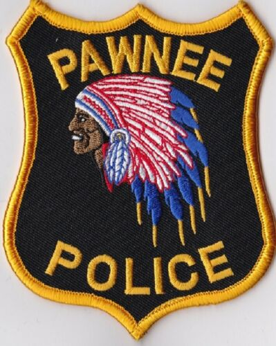Pawnee Police Patch Illinois IL