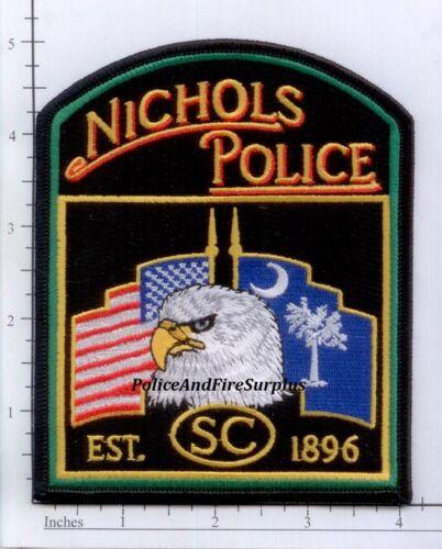 South Carolina - Nichols SC Police Dept Patch