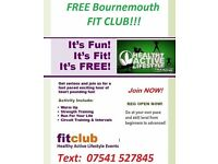 New For Summer 2016 - 4 Week Free Fitness Club