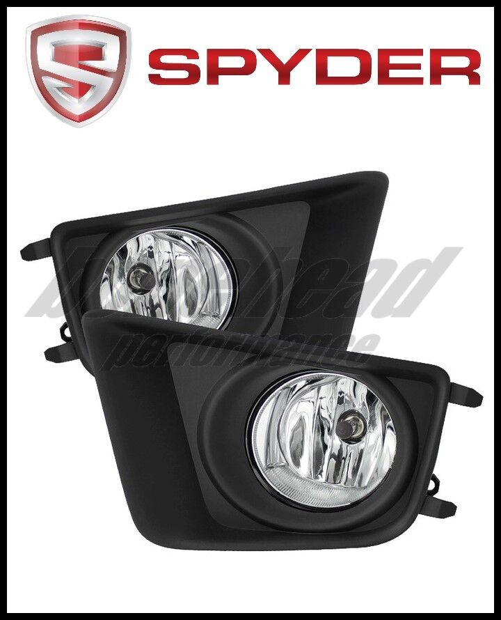 Spyder Auto LED Fog Lights w//Switch-Clear For 2012-2015 Toyota Tacoma #5075154