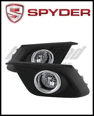 Spyder Auto FL-CL-MAZ307-Y Mazda3 Yellow OEM Fog Light