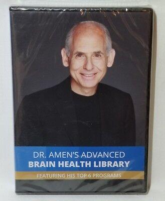 Dr. Amen's Advanced Brain Health Library - BrainFit/Memory (6-Disc DVD) NEW