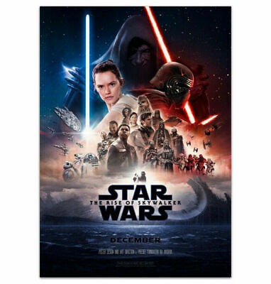 Star Wars Movie Poster The Rise of Skywalker 2019 32x48 24x36 Decor G-139