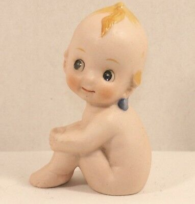 Small Ceramic Kewpie Doll - Vintage Piece