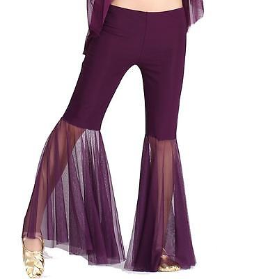 Tribal Belly Dance Costume Flared Pants