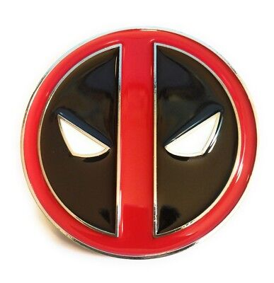 Deadpool Belt Cosplay (Deadpool Belt Buckle Full metal HQ NEW cosplay or just wear :) US Seller)