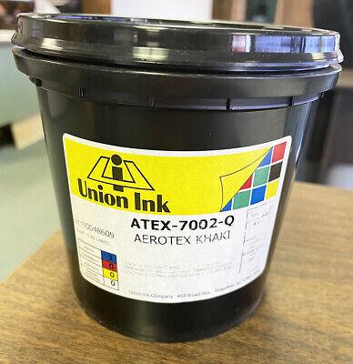 1 Quart Screen Printing Aerotex Khaki Ink Atex7002q