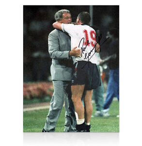 Paul-Gascoigne-Signed-England-Photo-Sir-Bobby-Robson-bid-from-20