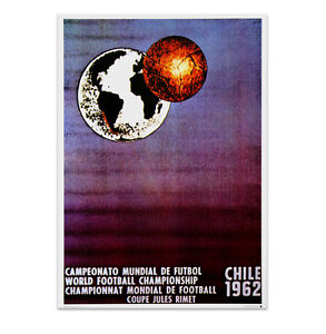 Official World Cup Poster - Chile 1962