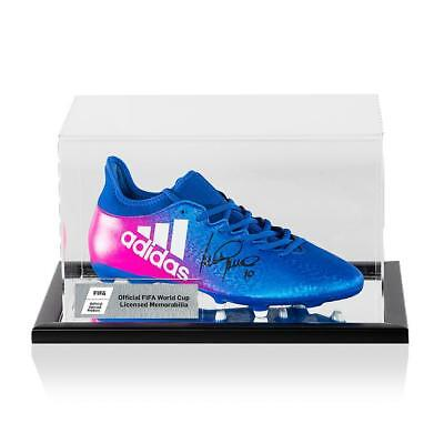 7351a758b75d Luis Garcia Official FIFA World Cup Signed Blue and Pink Adidas X Techfit  Boot I