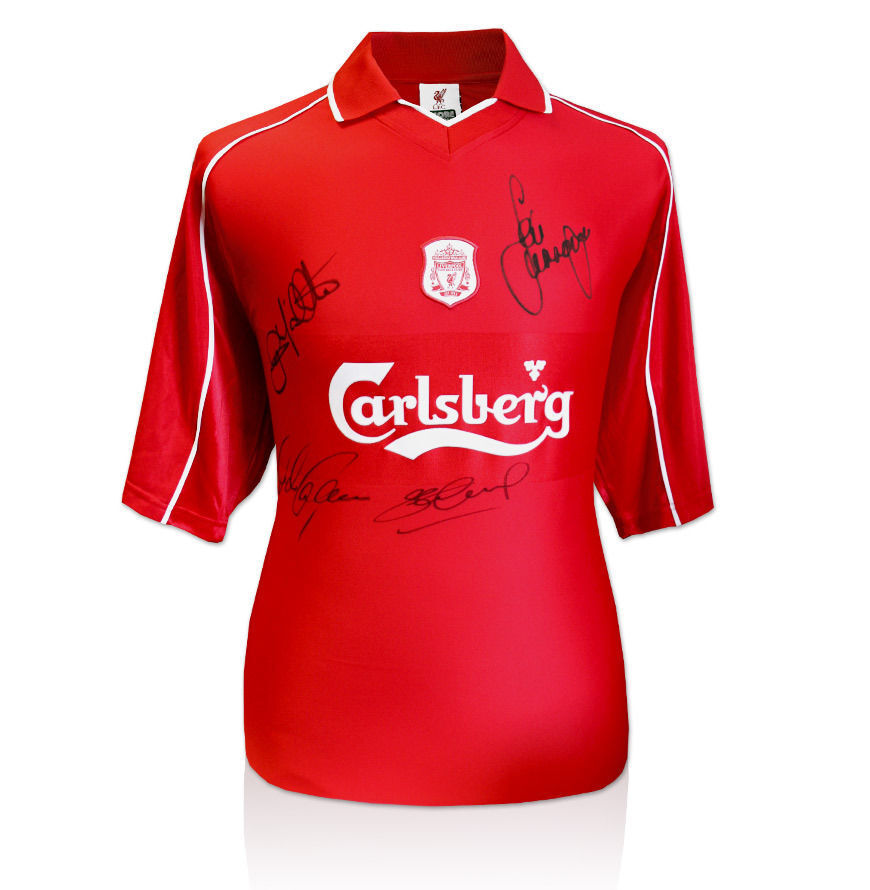 Liverpool Signed Champions League Winners Jersey