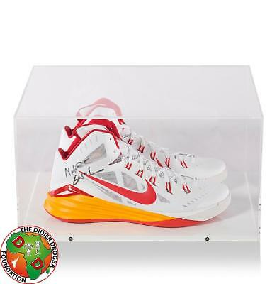 0fa7ba72623822 Marc Gasol Signed White, Red and Orange Nike Basketball Shoes Autograph
