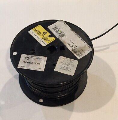 General Flexible Cable Black 182 Spt-j 105c 300v