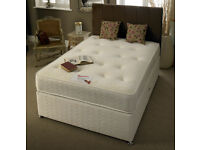 🔴MASSIVE SAVING🔵NEW DOUBLE AND KING SIZE DIVAN BED BASE WITH OPTIONAL MATTRESS & HEADBOARD