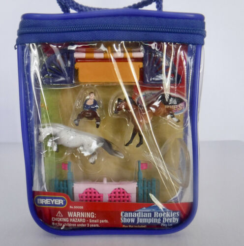 Breyer Mini Whinnies Horses Canadian Rockies Show Jumping Derby