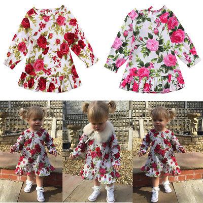 Christmas Toddler Kid Baby Girl Clothes Princess Party Prom Tutu Summer Dress - Kid Christmas Dresses