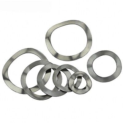 M3 M4 M5 M6 M8 M10 A2 Stainless Steel Wave/Wavey/Crinkle Washers Spring Washers