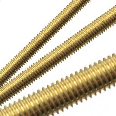 Solid Brass Fully Threaded Rodbarstuddingallthread M45681012141620mm