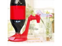 Beverage Bottle Upside Down Drinking Fountain / Funny drinking experience