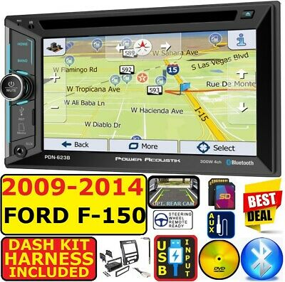 2009-2014 F150 GPS NAVIGATION BLUETOOTH USB CD/DVD AUX SD CAR RADIO STEREO PKG