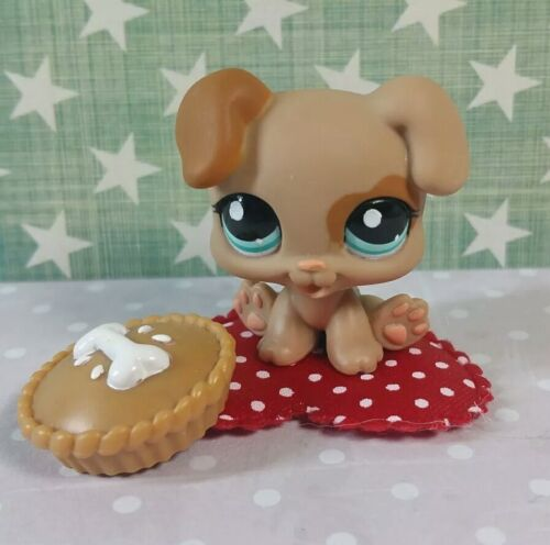 Littlest Pet Shop Baby Hund Welpe #1482 Boxer Puppy LPS
