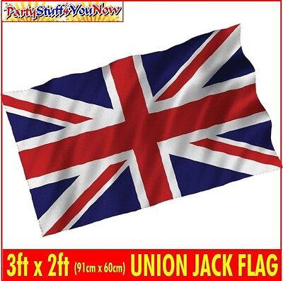 UNION JACK FLAG 3FT x 2FT GREAT BRITAIN UNION FLAG