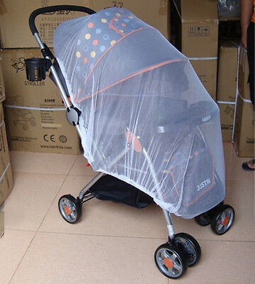 20x Infant Baby Pram Mosquito Net Buggy Pushchair Stroller Fly Midge Insect Cov